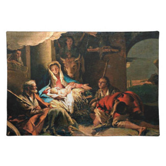 The Adoration of the Shepherds - Tiepolo Placemat