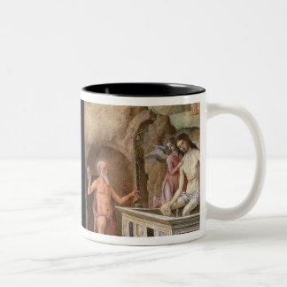 The Adoration of the Shepherds Two-Tone Coffee Mug