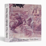 The Adoration Of The Three Kings Detail By Leonard 3 Ring Binder