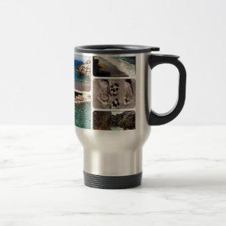 The Adriatic Sea Albania Travel Mug