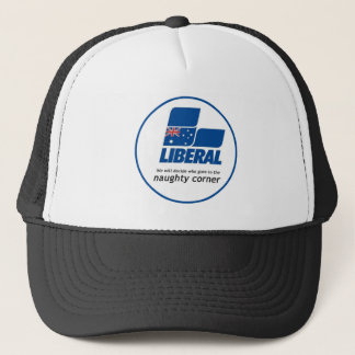 The adults are back in charge trucker hat