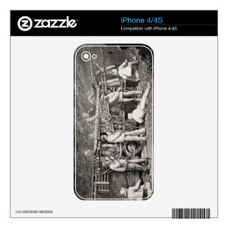 The Advanced Gallery on the French Side of the Mon Decal For The iPhone 4
