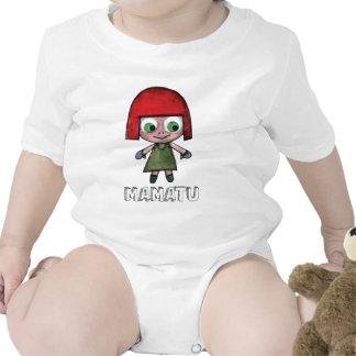 THE ADVENGER OF MAMATU Characters cartoon Baby Bodysuit