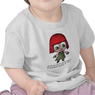 THE ADVENGER OF MAMATU Characters cartoon Tee Shirt