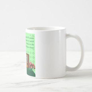 The advent of television coffee mug