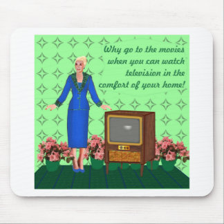 The advent of television mouse pad