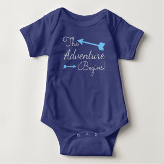 The Adventure Begins Boy Arrow Shirts
