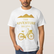 The Adventure Begins Travel T-Shirt