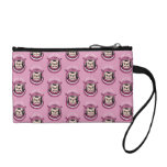The adventure of a cute Frenchie spaceman Change Purse