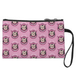 The adventure of a cute Frenchie spaceman Wristlet Wallet
