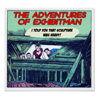 The Adventure Of ExhibitMan - Poster