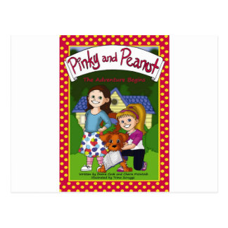 The Adventure of Pinky and Peanut Postcard