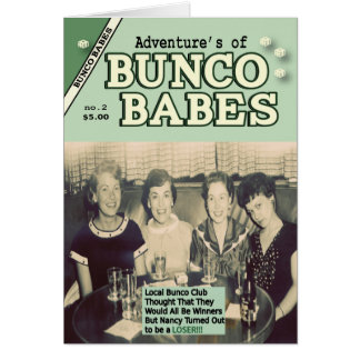 The Adventures of Bunco Babes 2 Greeting Cards