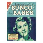 The Adventures of Bunco Babes Postcard