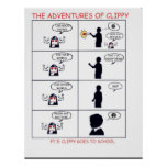 The Adventures of Clippy Pt 5 Print