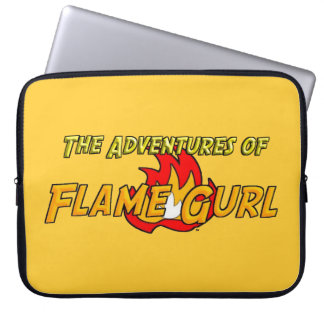 The Adventures of Flame Gurl Laptop Sleeve