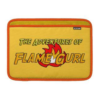 The Adventures of Flame Gurl MacBook Sleeve