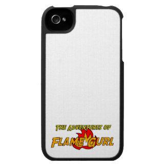 The Adventures of Flame Gurl iPhone 4 Case