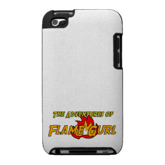 The Adventures of Flame Gurl iPod Touch Cover