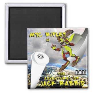 THE ADVENTURES OF JACK RABBID!!! MAGNET