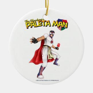 The Adventures of Paleta Man Ornament