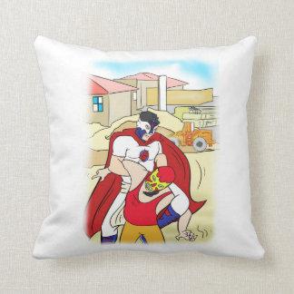 The Adventures of Paleta Man Pillow