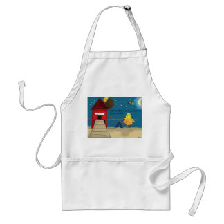 The Adventures of Shellie and Hatch -11 Adult Apron