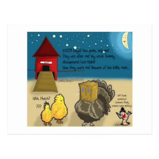 The Adventures of Shellie and Hatch -12 Postcard