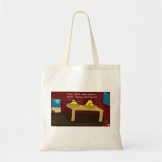 The Adventures of Shellie and Hatch -13 Budget Tote Bag