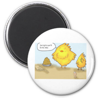 The Adventures of Shellie and Hatch -1 2 Inch Round Magnet