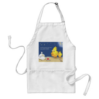 The Adventures of Shellie and Hatch -2 Adult Apron