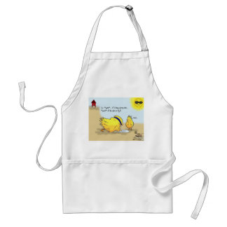 The Adventures of Shellie and Hatch -3 Adult Apron