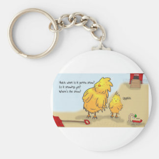 The Adventures of Shellie and Hatch -4 Basic Round Button Keychain