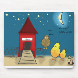 The Adventures of Shellie and Hatch -8 Mouse Pad
