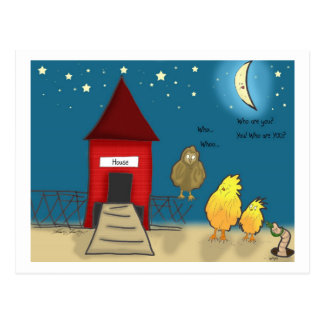 The Adventures of Shellie and Hatch -8 Postcard