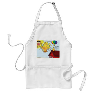 The Adventures of Shellie and Hatch -9 Adult Apron