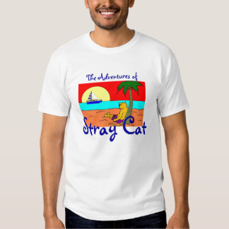 The Adventures of Stray Cat T-shirt