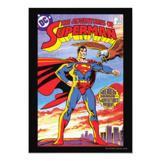 The Adventures of Superman #424 5x7 Paper Invitation Card