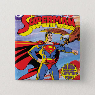 The Adventures of Superman #424 Pinback Button