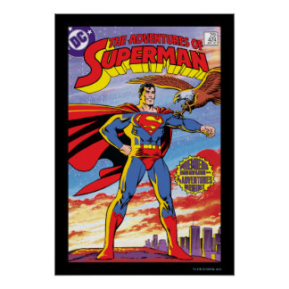 The Adventures of Superman #424 Poster