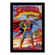 The Adventures of Superman #424 Print