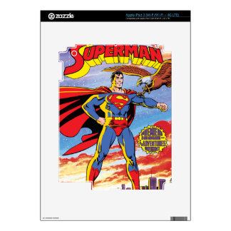 The Adventures of Superman #424 Decals For iPad 3