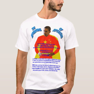 The Adventures of SUPERMAO - Barack Obama T-Shirt