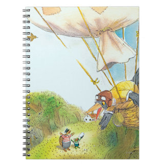 The Adventures of Ted, Ed and Caroll Spiral Notebooks