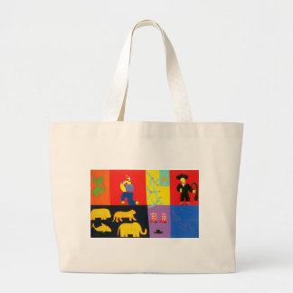 The Adventures of Tom and Luke 2002 Large Tote Bag