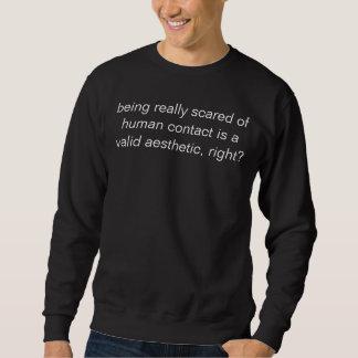 the aesthetic of fear sweatshirt