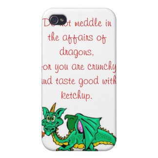 The Affairs of Dragons iPhone 4/4S Cover