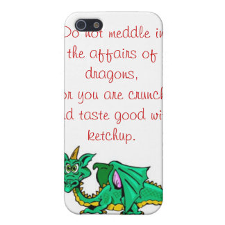 The Affairs of Dragons Cover For iPhone 5