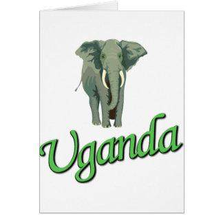 The African Elephant Card