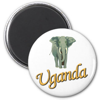 The African Elephant Magnet